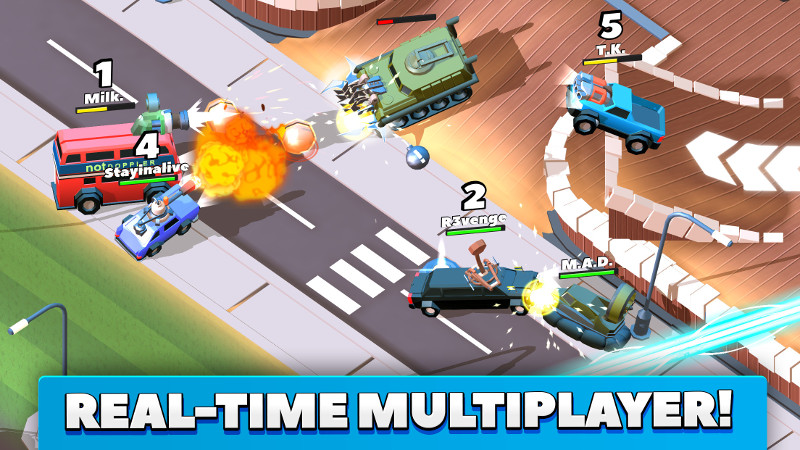 Real-time Multiplayer!
